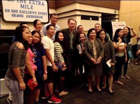 Extra Mile World, Philippines, LFisher, Shawn Anderson, inspiring, inspirational, motivational, speaker, life coach, trainer, author